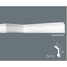 Карниз с гладким профилем C321