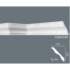 Карниз с гладким профилем C333 FLEX