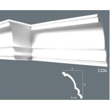 Карниз с гладким профилем C336
