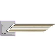 Карниз с гладким профилем P2009