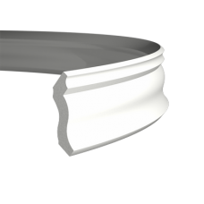 Карниз с гладким профилем 1.50.105 FLEX