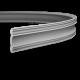 Карниз с гладким профилем 1.50.113 FLEX