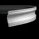 Карниз с гладким профилем 1.50.117 FLEX