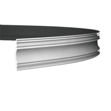 Карниз с гладким профилем 1.50.139 FLEX