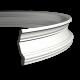 Карниз с гладким профилем 1.50.146 FLEX