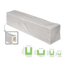 Декоративная балка модерн ED 104 (2м) белая