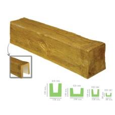 Декоративная балка модерн ED 104 (2м) светлая