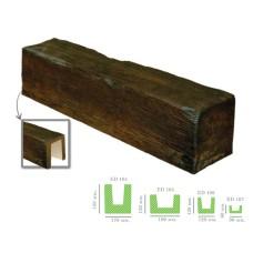 Декоративная балка модерн ED 104 (2м) темная