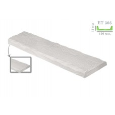 Декоративная доска рустик ET 305 (2м) белая