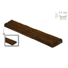 Декоративная доска рустик ET 306 (2м) темная