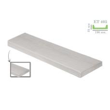 Декоративная доска модерн ET 405 (2м) белая