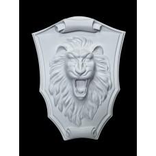 Декоративное панно MSK-001 chrome маска Льва