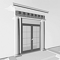 Обрамление дверей